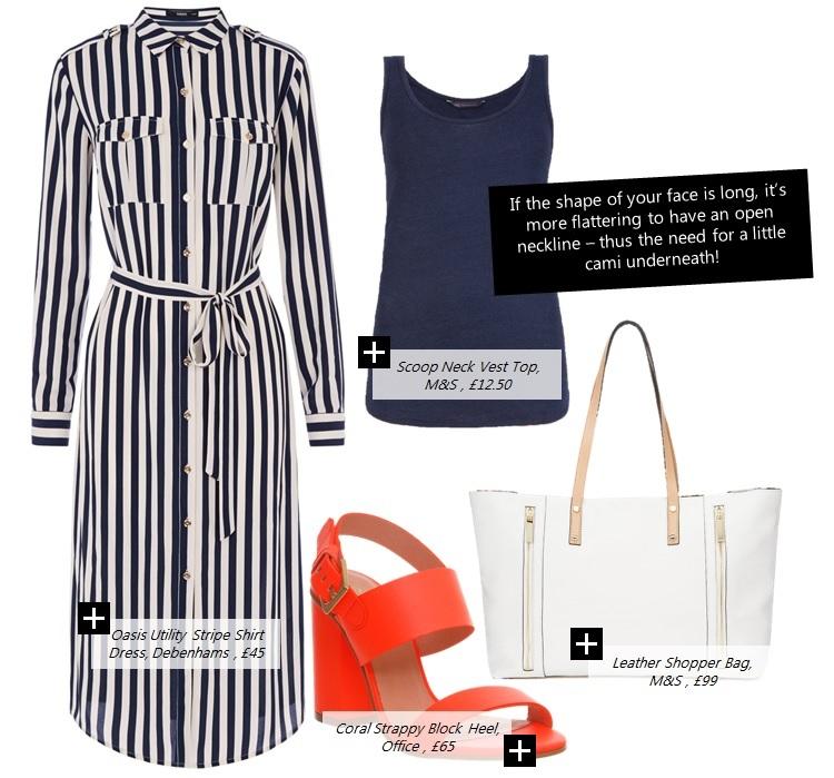blue-navy-dress-zprint-stripe-orange-shoe-sandalh-white-bag-tote-shirt-blue-navy-top-tank-wear-style-fashion-spring-summer-sandals-work.jpg