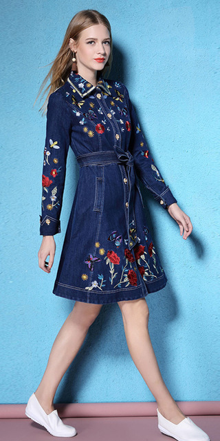 blue-navy-dress-shirt-embroidered-denim-blonde-white-shoe-flats-spring-summer-lunch.jpg