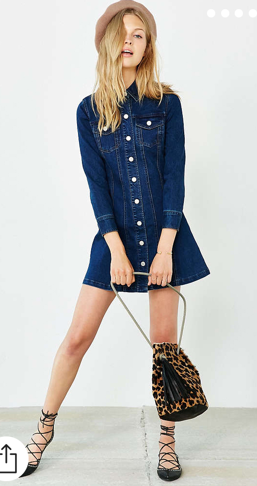 blue-navy-dress-a-black-shoe-flats-hat-tan-bag-leopard-shirt-wear-style-fashion-spring-summer-chambray-blonde-lunch.jpg