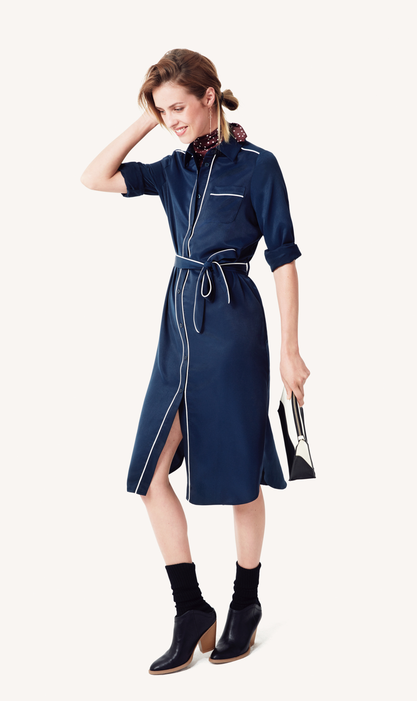 blue-navy-dress-shirt-burgundy-scarf-neck-socks-blue-shoe-booties-pony-fall-winter-hairr-lunch.jpg