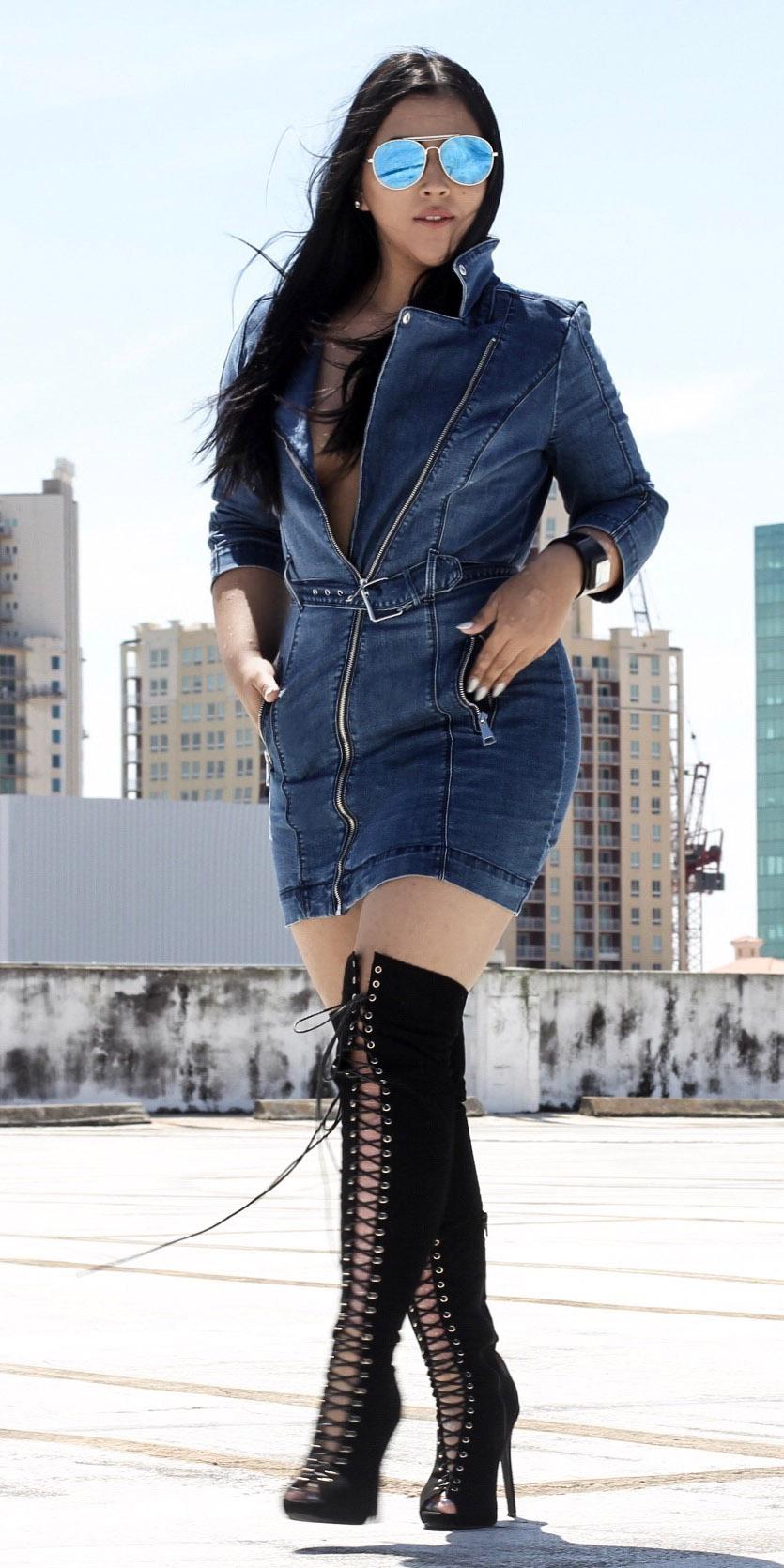blue-navy-dress-shirt-mini-denim-sun-brun-black-shoe-boots-otk-lace-spring-summer-dinner.jpg