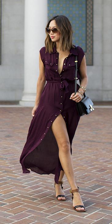 purple-royal-dress-shirt-sun-brun-cognac-shoe-sandals-maxi-aimeesong-spring-summer-weekend.jpg