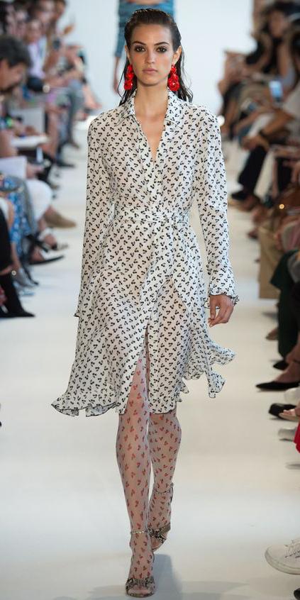 white-dress-wrap-print-white-tights-gray-shoe-sandalh-snakeskin-shirt-fashion-style-outfit-spring-summer-earrings-brun-lunch.jpg