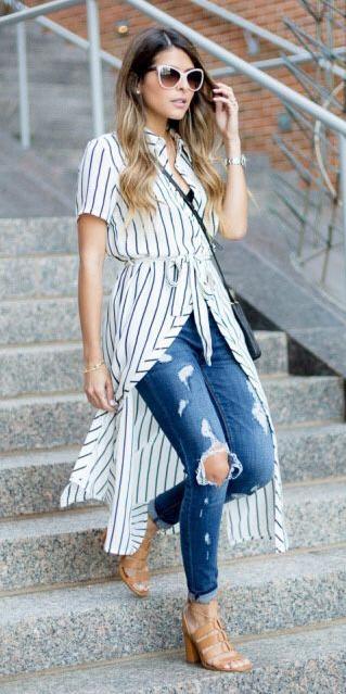 white-dress-shirt-vertical-stripe-sun-blue-med-skinny-jeans-cognac-shoe-sandalh-spring-summer-blonde-lunch.jpg