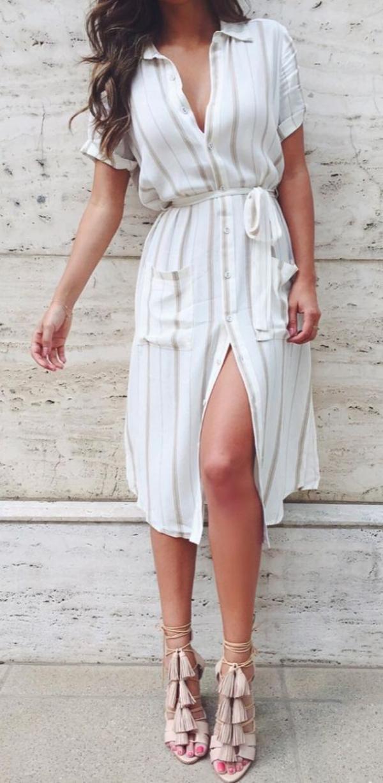 white-dress-tan-shoe-sandalh-shirt-howtowear-fashion-style-outfit-spring-summer-work.jpeg
