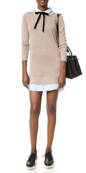 white-dress-shirt-tan-sweater-layer-black-bag-black-shoe-brogues-fall-winter-work.jpg
