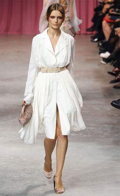 white-dress-tan-shoe-pumps-pony-shirt-wide-belt-wear-style-fashion-spring-summer-runway-hairr-work.jpg