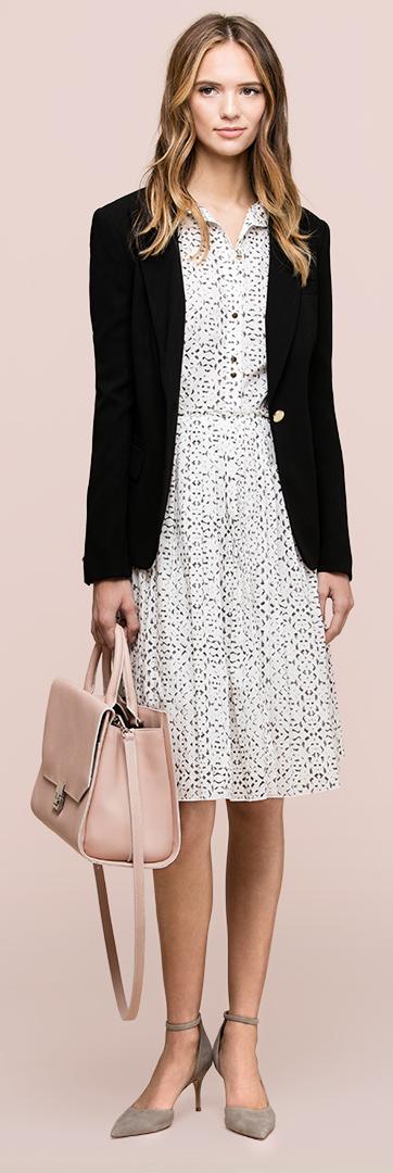white-dress-black-jacket-blazer-pink-bag-gray-shoe-pumps-shirt-wear-style-fashion-spring-summer-hairr-work.jpg