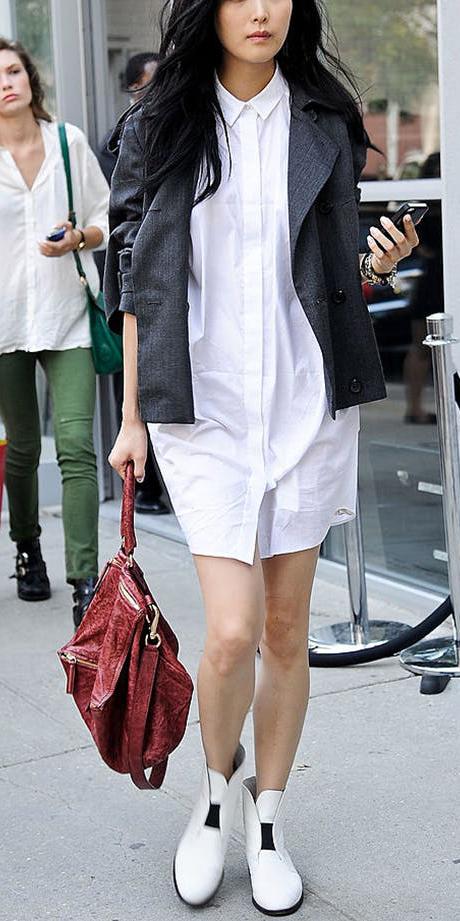 white-dress-shirt-grayd-jacket-brun-red-bag-white-shoe-booties-fall-winter-lunch.jpg
