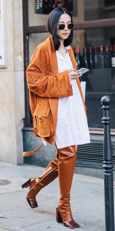white-dress-shirt-orange-jacket-utility-suede-cognac-shoe-boots-otk-brun-sun-fall-winter-lunch.jpg