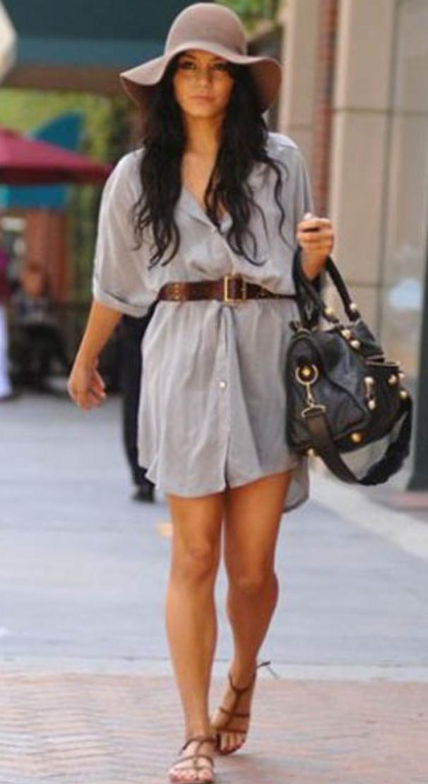 grayl-dress-a-cognac-shoe-sandals-hat-black-bag-shirt-wear-style-fashion-spring-summer-belt-brunette-weekend.jpg