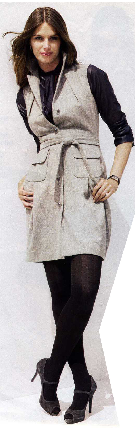 grayl-dress-black-top-blouse-layer-black-tights-gray-shoe-pumps-brun-shirt-howtowear-fashion-style-outfit-fall-winter-work.jpg