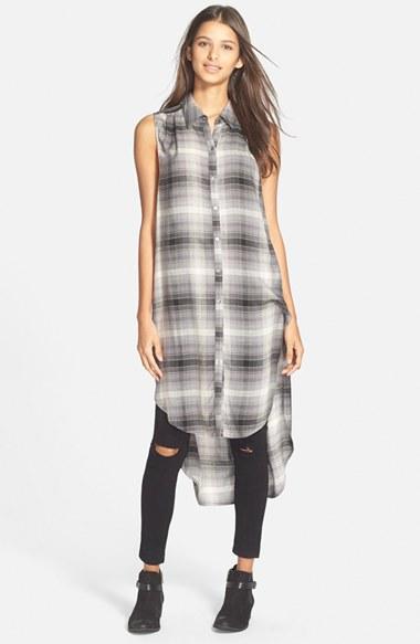 grayl-dress-zprint-plaid-black-skinny-jeans-black-shoe-booties-shirt-wear-style-fashion-fall-winter-layeroverjeans-tunic-brunette-weekend.jpg