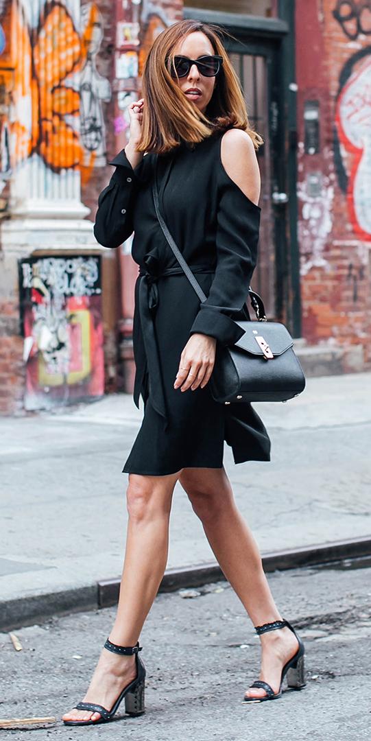 black-dress-shirt-black-bag-sun-hairr-mono-black-shoe-sandalh-spring-summer-lunch.jpg