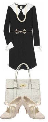 black-dress-skinny-belt-white-shoe-pumps-pearl-necklace-white-bag-shirt-howtowear-fashion-style-outfit-spring-summer-work.jpg
