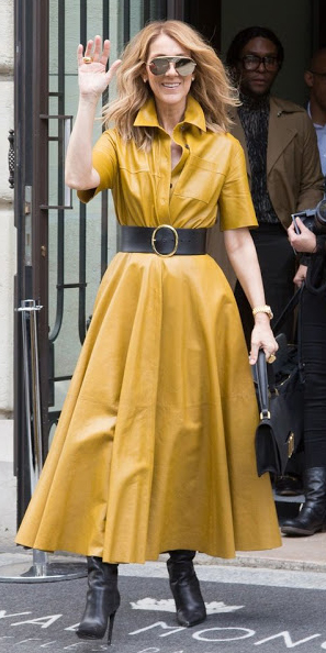 yellow-dress-shirt-wide-belt-sun-hairr-black-shoe-boots-black-bag-midi-fall-winter-lunch.jpg