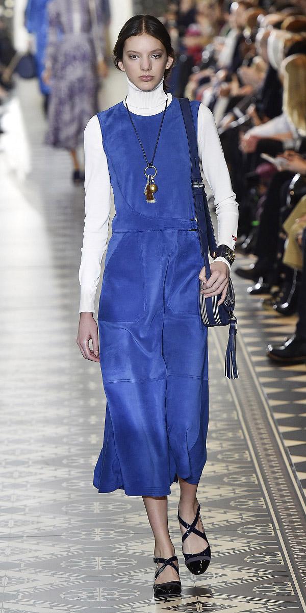 blue-med-dress-midi-layer-white-tee-turtleneck-blue-bag-hairr-necklace-pend-black-shoe-pumps-fall-winter-lunch.jpg