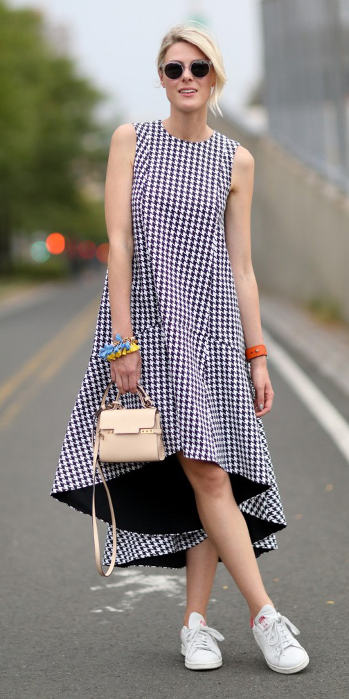 White midi dresses | HOWTOWEAR Fashion