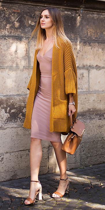 tan-dress-bodycon-yellow-cardiganl-cognac-bag-cognac-shoe-sandalh-blonde-spring-summer-dinner.jpg