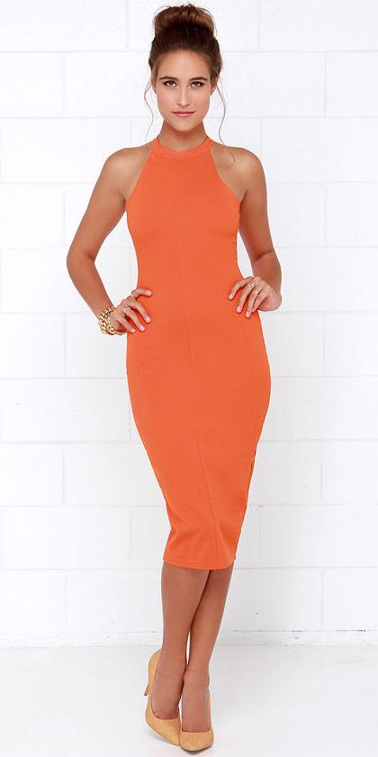 orange-dress-bodycon-bun-spring-summer-hairr-dinner.jpg