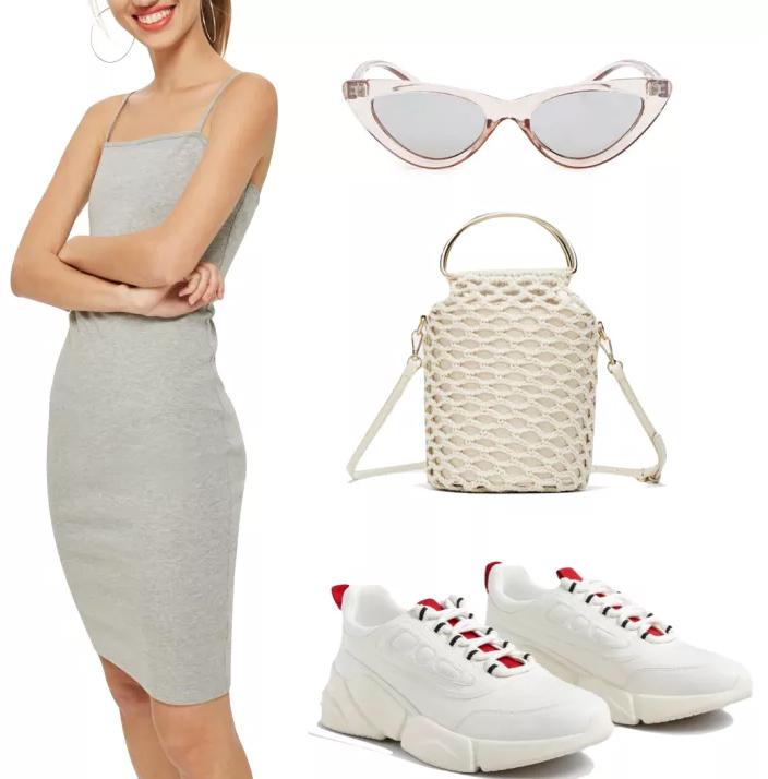 grayl-dress-bodycon-white-shoe-sneakers-white-bag-sun-net-dad-chunky-spring-summer-weekend.jpg