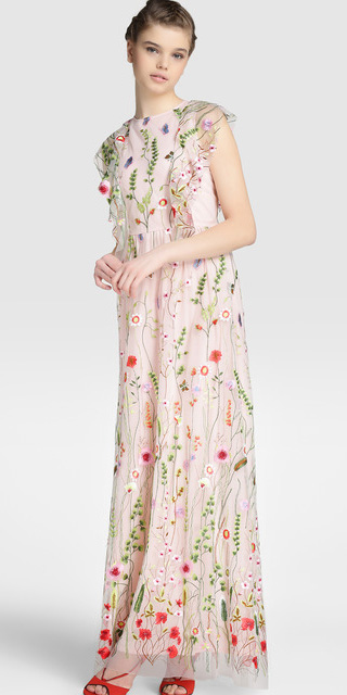 pink-light-dress-maxi-floral-print-red-shoe-sandalh-braid-spring-summer-hairr-dinner.jpg