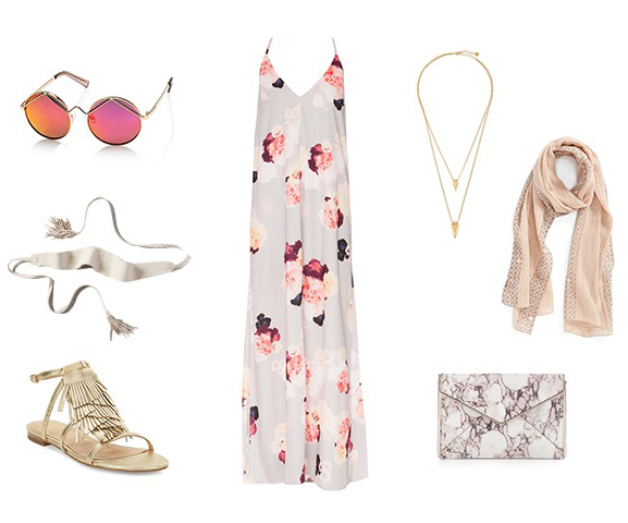 pink-light-dress-maxi-floral-print-sun-belt-necklace-white-bag-clutch-tan-scarf-tan-shoe-sandals-wedding-spring-summer-dinner.jpg