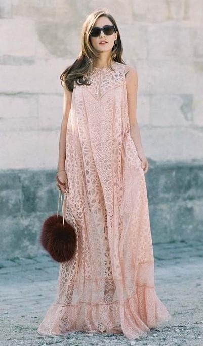 pink-light-dress-maxi-hairr-burgundy-bag-sun-sheer-lace-spring-summer-dinner.jpg