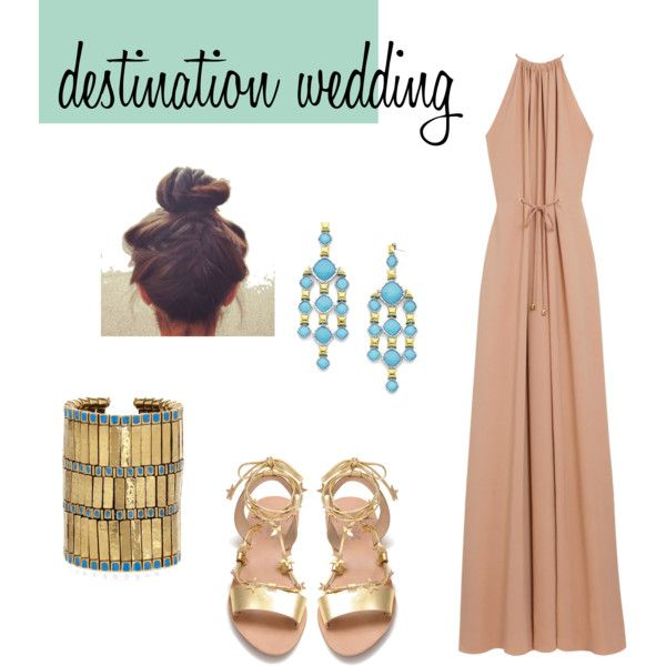 what-to-wear-for-a-summer-wedding-guest-outfit-beach-tan-dress-maxi-gown-earrings-turquoise-tan-shoe-sandals-bracelet-hairr-bun-dinner.jpg