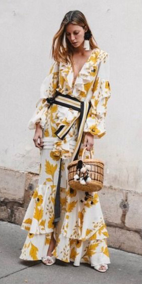 yellow-dress-peasant-maxi-wrap-print-belt-earrings-blonde-tan-bag-white-shoe-sandalh-spring-summer-dinner.jpg