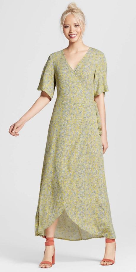 green-light-dress-wrap-maxi-yellow-dress-blonde-bun-peach-shoe-sandalh-spring-summer-dinner.jpg
