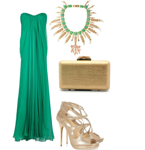 green-emerald-dress-maxi-necklace-tan-shoe-sandalh-tan-bag-clutch-howtowear-fashion-style-outfit-spring-summer-dinner.jpg