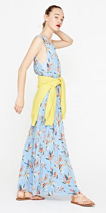blue-light-dress-maxi-print-yellow-cardigan-blonde-bun-orange-shoe-sandals-spring-summer-weekend.jpg