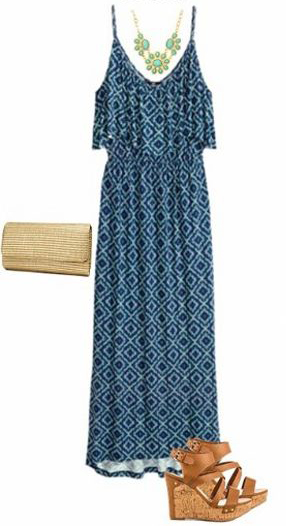 blue-med-dress-tank-bib-necklace-print-maxi-tan-bag-clutch-cognac-shoe-sandalw-barbecue-style-spring-summer-lunch.jpg