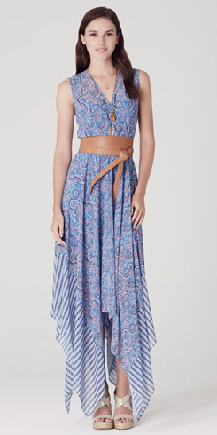 what-to-wear-for-a-summer-wedding-guest-outfit-blue-med-dress-wrap-maxi-wide-belt-hairr-dinner.jpg