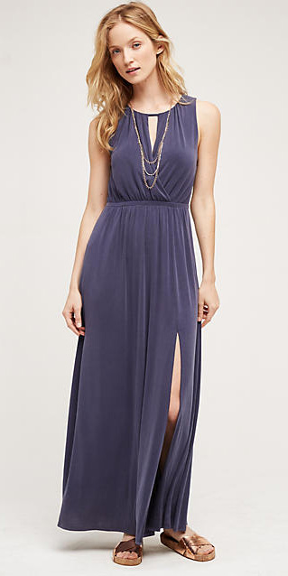 blue-navy-dress-tan-shoe-sandals-necklace-maxi-wear-style-fashion-spring-summer-anthropologie-blonde-lunch.jpg
