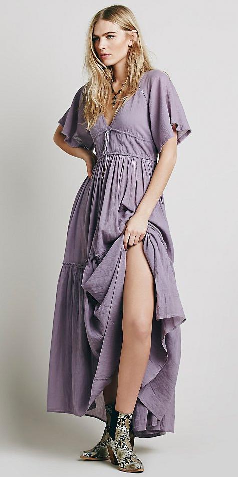 purple-light-dress-maxi-peasant-tan-shoe-booties-snakeskin-spring-summer-blonde-lunch.jpeg