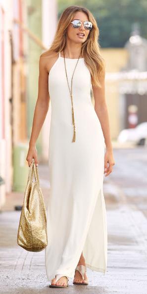 white-dress-maxi-tan-shoe-sandals-tan-bag-gold-necklace-blonde-sun-spring-summer-weekend.jpg