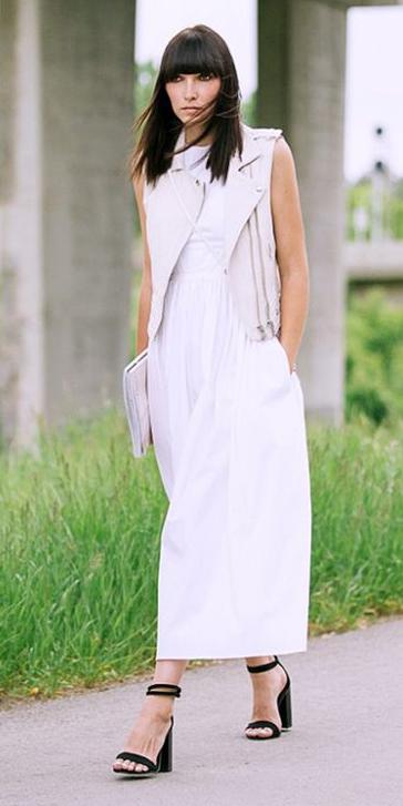 white-dress-maxi-brun-black-shoe-sandalh-white-vest-moto-spring-summer-dinner.jpg