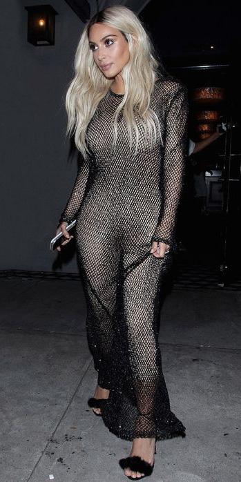 black-dress-maxi-black-shoe-sandalh-sheer-kimkardashian-blonde-spring-summer-dinner.jpg