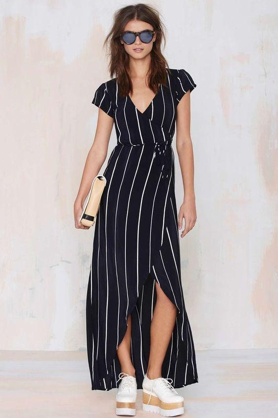 black-dress-wrap-maxi-stripe-hairr-sun-white-shoe-brogues-platforms-spring-summer-weekend.jpg