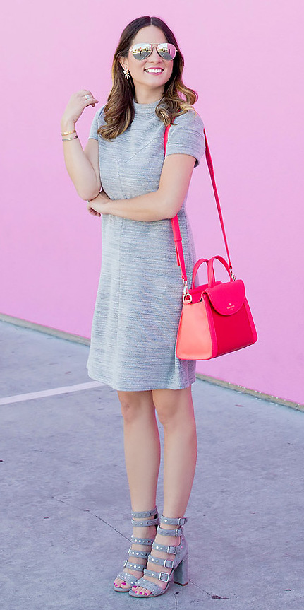 grayl-dress-tshirt-red-bag-gray-shoe-sandalh-sun-studs-hairr-spring-summer-lunch.jpg