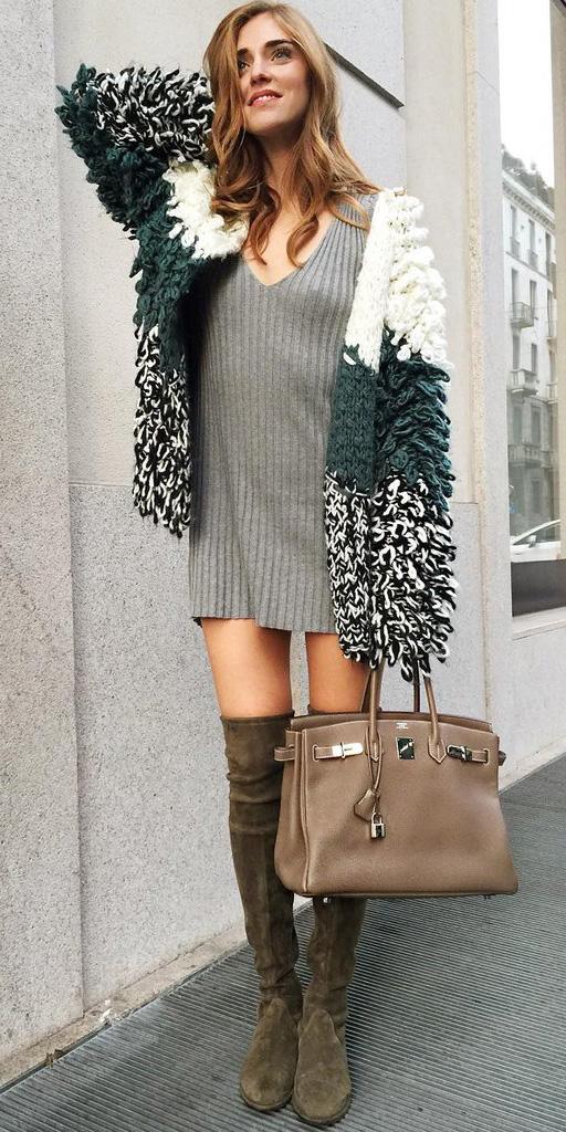 grayl-dress-sweater-tshirt-green-shoe-boots-otk-tan-bag-green-dark-cardiganl-fall-winter-hairr-lunch.jpg