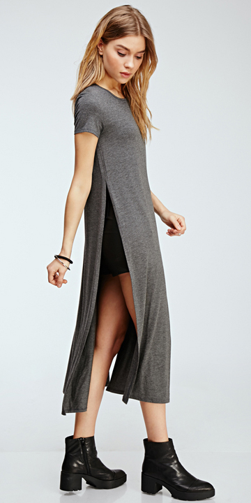 grayd-dress-black-shorts-black-shoe-booties-tshirt-wear-style-fashion-fall-winter-forever21-outfit-blonde-lunch.jpeg