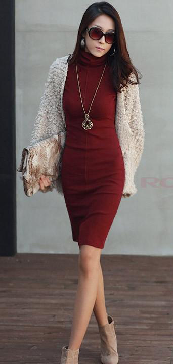 burgundy-dress-sweater-white-cardigan-tan-shoe-booties-necklace-pend-fall-winter-brun-lunch.jpg