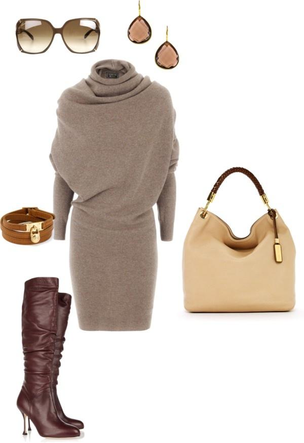 o-tan-dress-brown-shoe-boots-tan-bag-howtowear-fashion-style-outfit-fall-winter-sweater-jewel-earrings-bracelet-sun-work.jpg