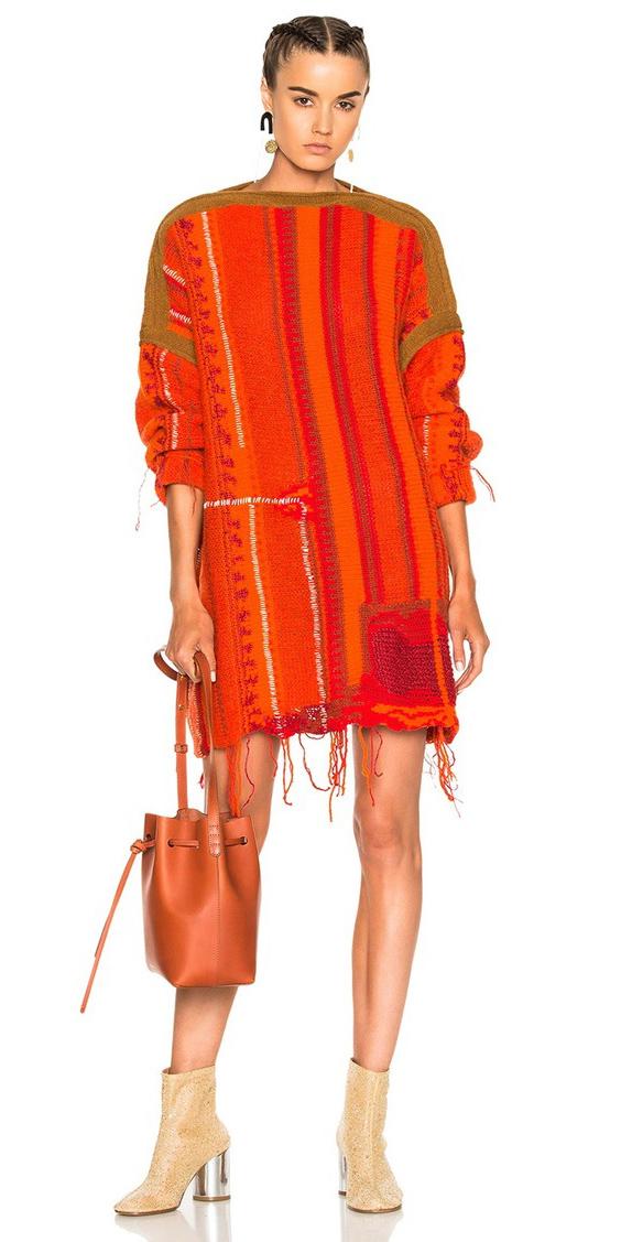 orange-dress-sweater-tan-shoe-booties-braid-earrings-orange-bag-fall-winter-hairr-lunch.jpg