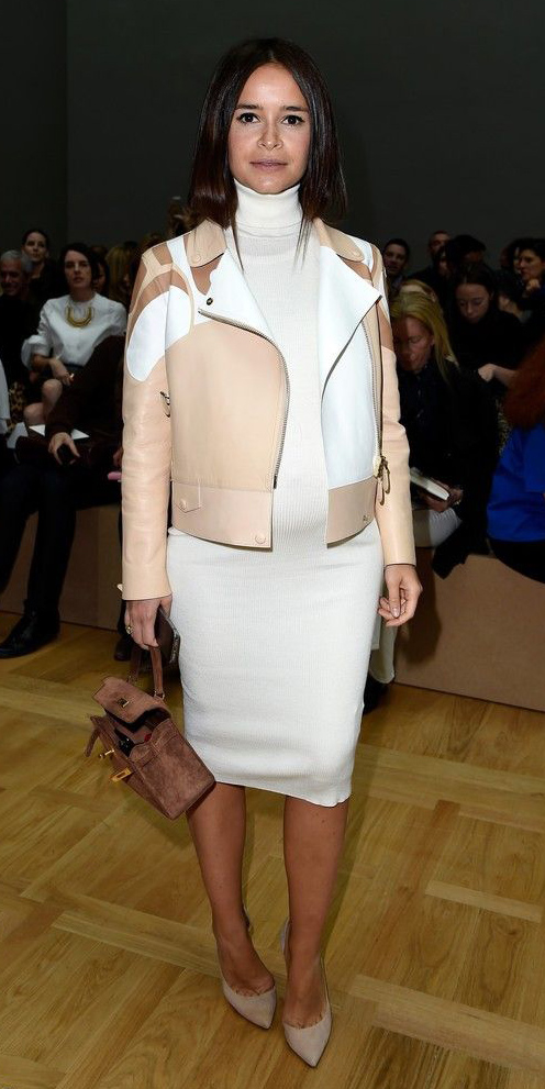 white-dress-sweater-tan-jacket-moto-turtleneck-white-shoe-pumps-tan-bag-fall-winter-brun-lunch.jpg