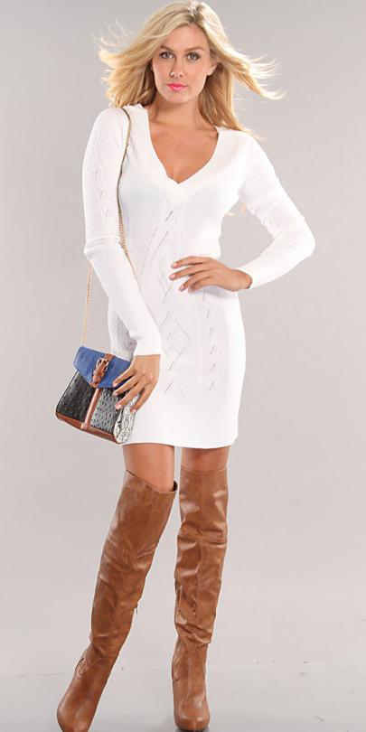 white-dress-sweater-blue-bag-cognac-shoe-boots-otk-fall-winter-blonde-dinner.jpg
