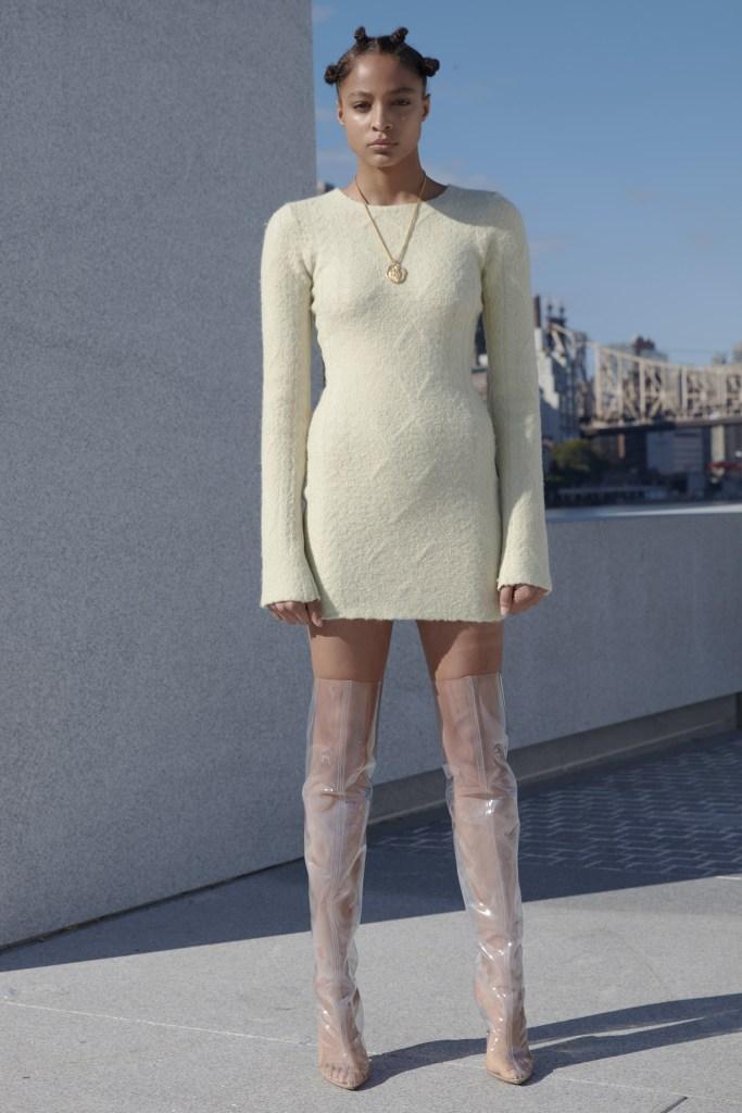 white-dress-sweater-necklace-brun-buns-clear-shoe-boots-otk-mono-fall-winter-dinner.jpg